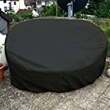 Sonneninsel Schutzhülle rund 180cm schwarz