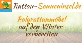 Polyrattanmöbel auf den Winter vorbereiten